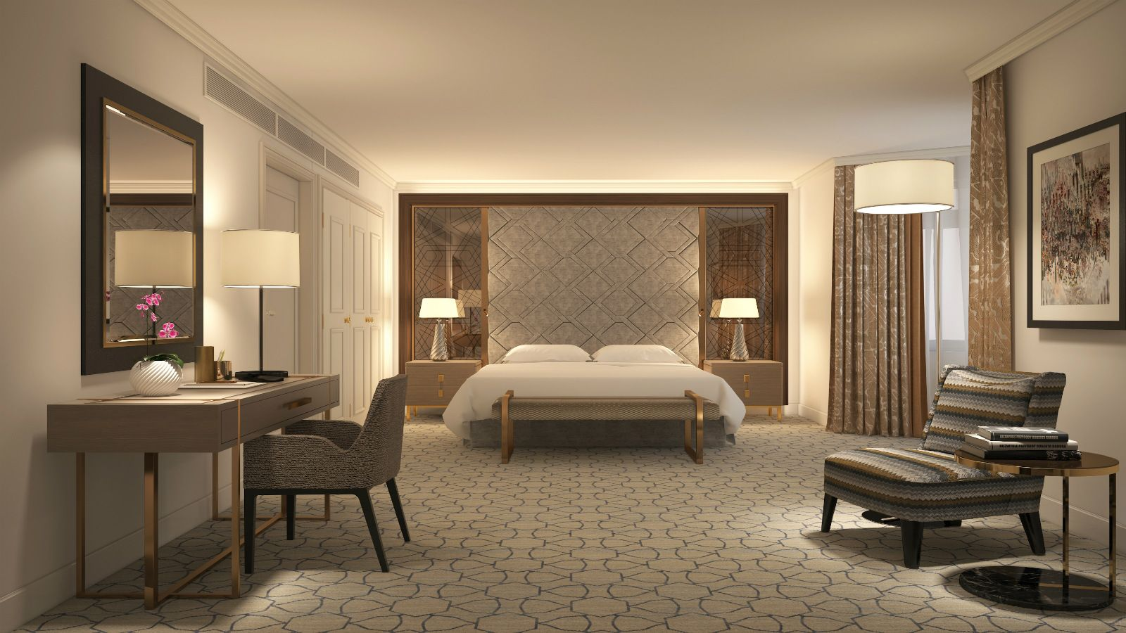 Newly Designed Club Deluxe Suite
